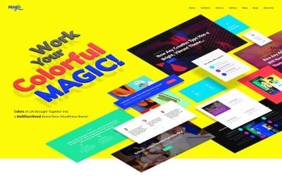 Magic - Багатоцільова творча тема WordPress