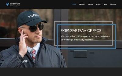 Shieldon - Адаптивна тема WordPress Агентства безпеки