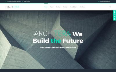 Architera - Tema WordPress reattivo per lo studio di architettura
