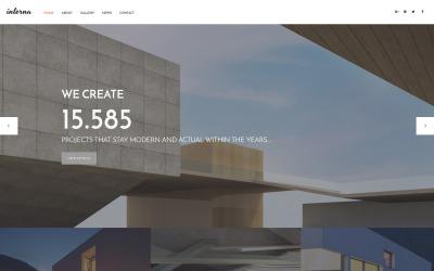 Arkitektur Moto CMS HTML-mall