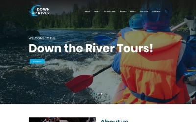 Down River - Rafting & Kayaking WordPress Theme