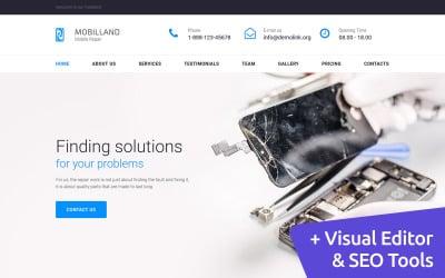Mobilland - Шаблон Mobile Repair Services Moto CMS 3