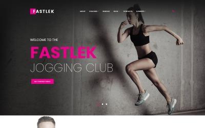 Fastlek - Клуб для бігу та коучинг WordPress тема