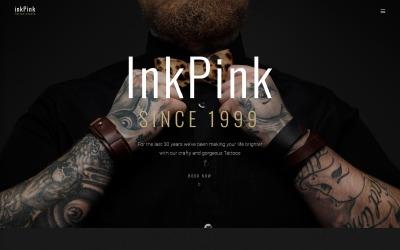 InkPink - Thème WordPress de Tattoo Studio