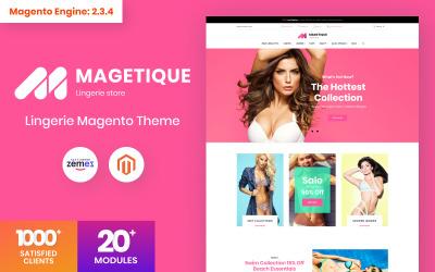 Magetique - Magento тема нижнего белья