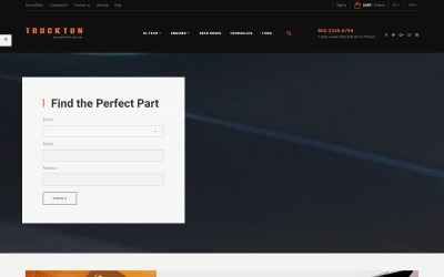 Trucktun - Spare Parts Store Ecommerce Clean Bootstrap PrestaShop Theme