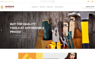 Devicesto - Tools and Supplies Shop MotoCMS Ecommerce Template