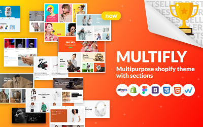 Multifly - Çok Amaçlı Çevrimiçi Mağaza Shopify Teması
