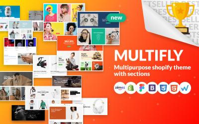 Multifly - Multipurpose Online Store Shopify-tema
