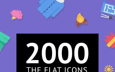 The Flat Icons 2000 Set