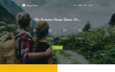 AppyTimes - Nyári tábor WordPress téma