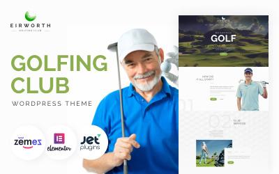 Eirworth - Tema WordPress reattivo per club di golf