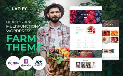 Latify-私有农场响应式WordPress主题
