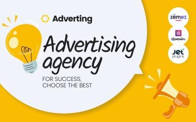 Реклама - Адаптивна тема WordPress рекламного агентства