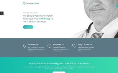Drug Store Responsive Joomla Template