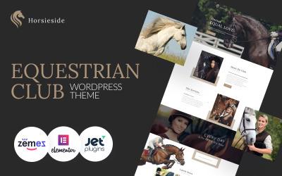 Horsieside - адаптивная тема WordPress для конного центра