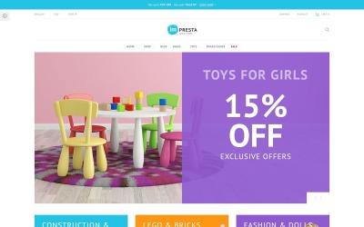 Impresta - Gyerekbolt PrestaShop téma