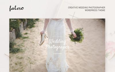 Falero婚礼摄影师WordPress主题