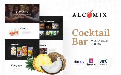Alcomix - WordPress тема для коктейль-бару