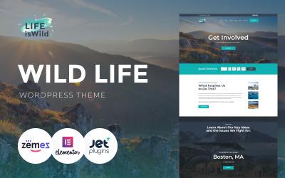 LifeisWild - Tema de WordPress Wild Life