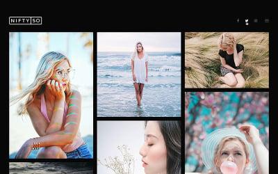 Photography WordPress Theme - Nifty Fifty