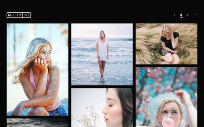 Tema WordPress per la fotografia - Nifty Fifty