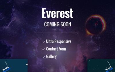 Everest - Çok Yakında HTML5 Özel Sayfası