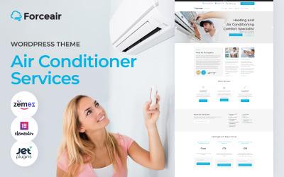 Forceair - Légkondicionálás és fűtés WordPress téma
