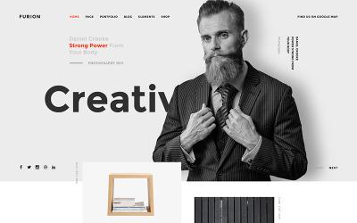 Furion-创意和代理PSD模板