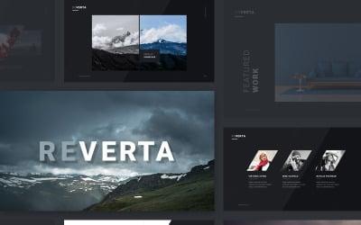 Reverta - Keynote template