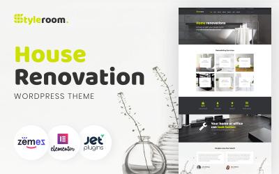 StyleRoom - responsywny motyw WordPress na temat renowacji domu