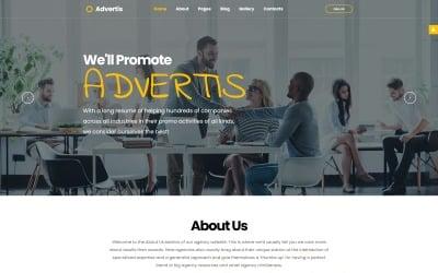 Advertis - Advertising Agency Clean Responsive Joomla Template