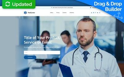 MedCenter MotoCMS 3 Landing Page Template