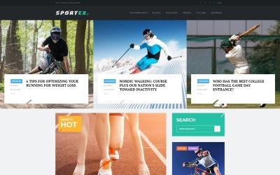 Sportex - Thème WordPress réactif pour les actualités sportives