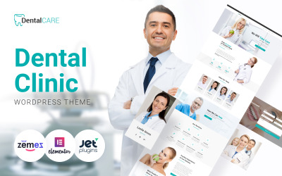 DentalCare - Tandheelkundige kliniek WordPress-thema