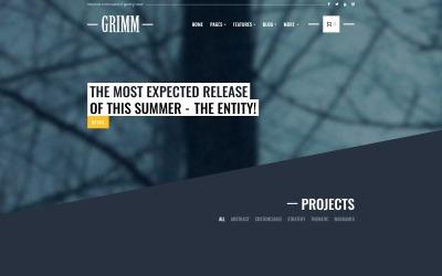 GRIMM - Game Development Studio WordPress téma