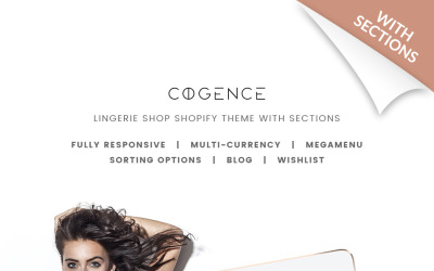 Lingerie Responsive Shopify-thema