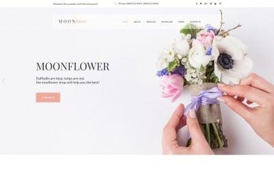 Flowers Moto CMS HTML Template
