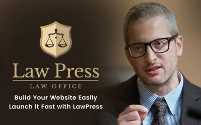 LawPress - Tema de WordPress para abogados y abogados
