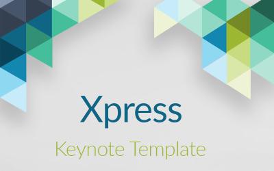 Xpress - Keynote template