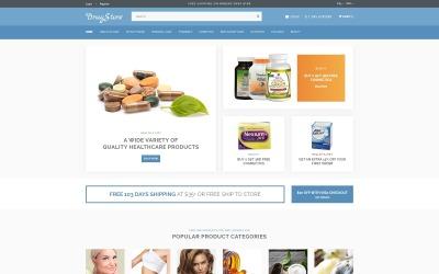 A DrugStore érzékeny webhelysablon OpenCart sablon