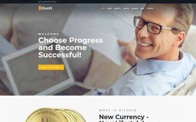 Bitunit Lite - бесплатная тема WordPress для биткойнов