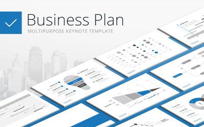 Business Plan - Multipurpose - Keynote template