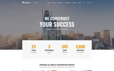 BigBuild - Construction WordPress Theme