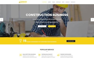 Dröm - Joomla-mall för konstruktion