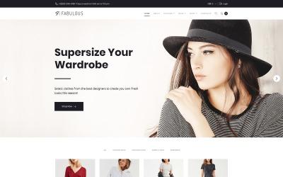 Fabulous - Thème WooCommerce pour magasin de mode