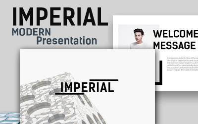 Imperial Modern - Keynote template