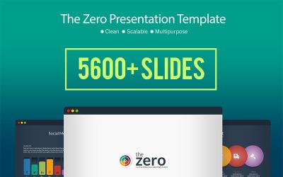 Prezentacja biznesowa Infografika - szablon PowerPoint