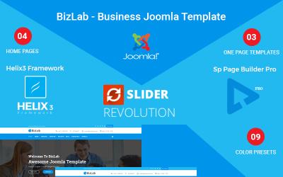 BizLab - бізнес Joomla шаблон
