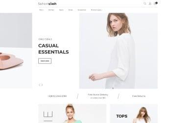 Fashion Slash - AMP Fashion Boutique Magento Theme